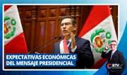Expectativas económicas del mensaje presidencial