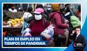 Plan de empleo en tiempos de pandemia