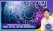 Horóscopo de la semana: Del 24 al 30 de agosto | Señales con Jhan Sandoval