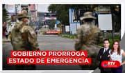 Gobierno prorroga estado de emergencia hasta el 30 de setiembre - RTV Noticias