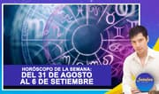 Horóscopo de la semana: Del 31 de agosto al 6 de setiembre | Señales con Jhan Sandoval