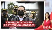 """Burga sobre renuncia de Jorge Montoya: """"Es un cambio sospechoso"""""""