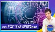 Horóscopo de la semana: Del 07 al 13 de setiembre | Señales con Jhan Sandoval