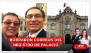 Peritajes confirman que borraron correos del registro de Palacio - RTV Noticias