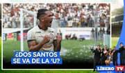 ¿Dos Santos se va de Universitario? - Líbero TV