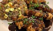 Cómo preparar pollo chijaukay con arroz chaufa