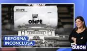 """RMP sobre reforma política: """"Todo está a medio hacer"""""""