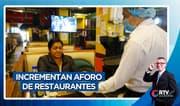 Cuarta fase de la reactivación económica: Incrementan aforo de restaurantes