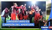 ¿La U es justo ganador del Apertura? - Líbero TV