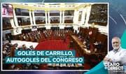 """AAR: """"Mientras Carillo metía golazos, el Congreso metía autogolazos"""""""