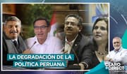 """AAR: """"La política está cada vez más degradada y eso le hace daño al Perú"""""""