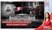 """Burga a Vizcarra: """"Le pido que evalúe la real posibilidad de su permanencia en la presidencia"""""""