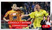 Lapadula y Rhyner fueron convocados para la selección peruana - RTV Noticias