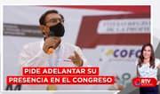 Vizcarra pide adelantar su presencia en el Congreso - RTV Noticias