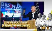 Tres D: Los demócratas están celebrando