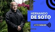 De Soto afirma que vacancia solo generaría inestabilidad en el Perú