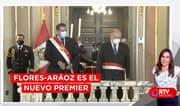 Ántero Flores-Aráoz es el nuevo presidente del Consejo de Ministros - RTV Noticias