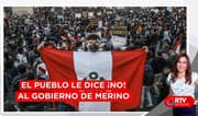 Manifestantes le dicen ¡No! Al Gobierno de Manuel Merino - RTV Noticias