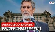 Francisco Sagasti juró como presidente de la República