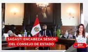 Presidente Sagasti encabeza sesión del Consejo de Estado - RTV Noticias