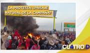 Cuatro D: La protesta: ¿paisaje natural de la campaña?