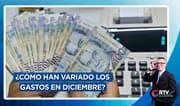 ¿Cómo han variado los gastos de los peruanos en diciembre?