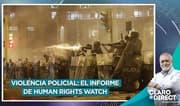 """Vivanco sobre marchas: """"Fueron reprimidas con violencia indiscriminada"""""""