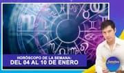 Horóscopo de la semana: Del 04 al 10 de enero | Señales con Jhan Sandoval
