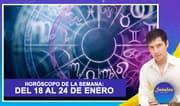 Horóscopo de la semana: Del 18 al 24 de enero | Señales con Jhan Sandoval