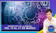 Horóscopo de la semana: Del 15 al 21 de marzo | Señales con Jhan Sandoval