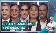 """AAR sobre el debate presidencial: """"En los perdedores está López Aliaga"""""""