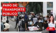 Lima y Callao: Paro de transporte público - RTV Noticias