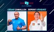 César Zamalloa y Sergio Vásquez debaten sus propuestas en Versus Electoral