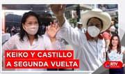 Elecciones 2021: Keiko Fujimori y Pedro Castillo a segunda vuelta - RTV Noticias