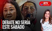 Debate entre Pedro Castillo y Keiko Fujimori no sería este sábado - RTV Noticias