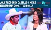 Espinosa-Saldaña: Castillo propone hacer una Constitución del 2021