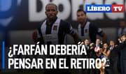¿Farfán contempla la posibilidad del retiro por lesión? - Líbero TV