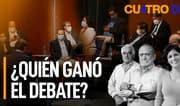 Cuatro D: ¿Quién ganó el debate? ¿Quién ganará la elección?