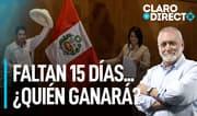 """AAR: """"En temas como la economía, Perú Libre no tiene las cosas claras"""""""