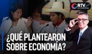 Debate presidencial entre Keiko y Castillo: ¿Qué plantearon sobre economía? | RTV Economía
