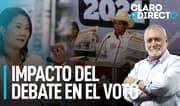 """AAR sobre enfrentamiento de Keiko y Castillo: """"El debate no sirvió"""""""