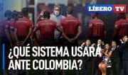 ¿Qué sistema debería usar Gareca ante Colombia? - Líbero TV
