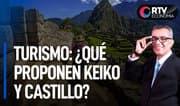 Keiko Fujimori y Pedro Castillo: propuestas para reactivar el turismo | RTV Economía
