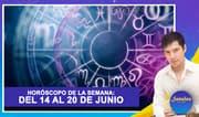 Horóscopo de la semana: Del 14 al 20 de junio | Señales con Jhan Sandoval