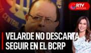 """Julio Velarde: """"Conversaré con Castillo cuando lo proclamen"""" - RTV Noticias"""