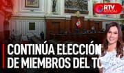 Pleno retomará elección de magistrados del TC a las 4:00 pm - RTV Noticias