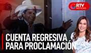 Cuenta regresiva para proclamación presidencial - RTV Noticias