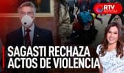"Sagasti sobre ataques fujimoristas: ""Lo que hemos visto se pasa de la raya"" - RTV Noticias"