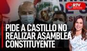Hernando de Soto pidió a Pedro Castillo no realizar Asamblea Constituyente - RTV Noticias