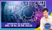 Horóscopo de la semana: Del 19 al 25 de julio   Señales con Jhan Sandoval
